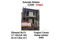 rumah suterjo selatan surabaya timur murah baru minimalis