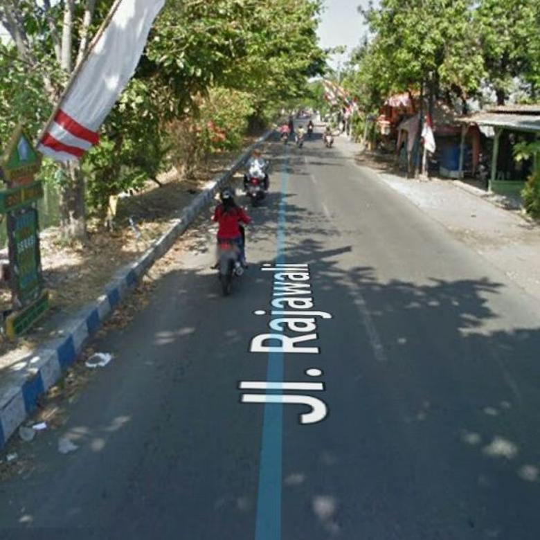 Tanah MURAAH Jalan Strategis Rajawali Sedati Sidoarjo Lokasi NOL Jalan Raya