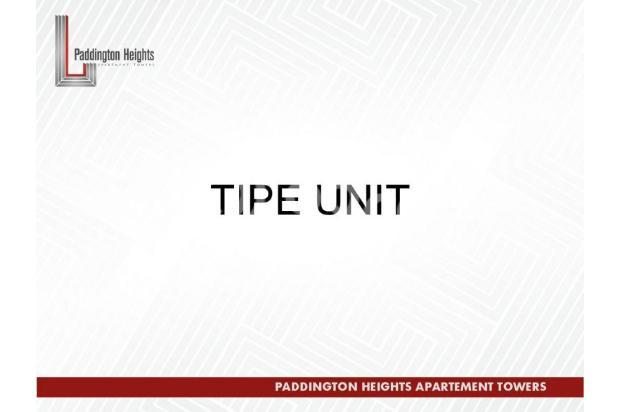 Apartemen Paddington Heights, Investasi Menguntungkan 18289611