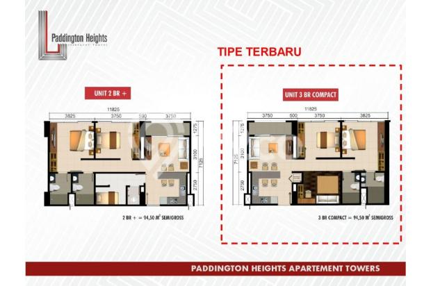 Apartemen Paddington Heights, Investasi Menguntungkan 18289651