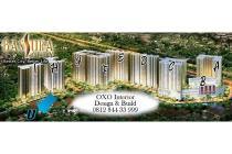 DIJUAL APARTEMEN BASSURA CITY TYPE 3 BEDROOM TOWER F LANTAI 28 RP 750.000.0