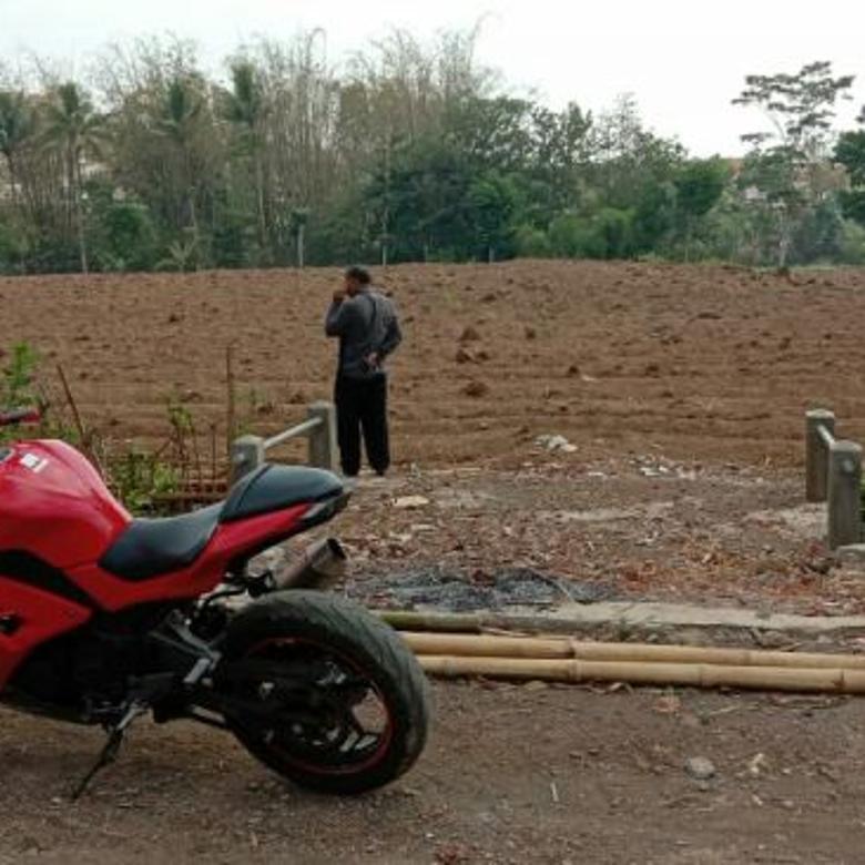 Tanah murah dan luas nol jalan aspal Wagir Malang