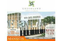 Rumah dijual Greenland Menganti Baru Minimalis Paling Dekat Surabaya