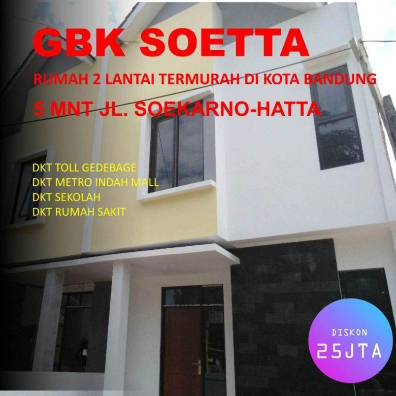 Rumah 2Lantai Termurah Kota Bandung