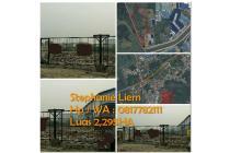 Dijual Cepat...!!! Tanah dekat Bandara Soekarno  Luas 2,2HA, Hub 0817782111