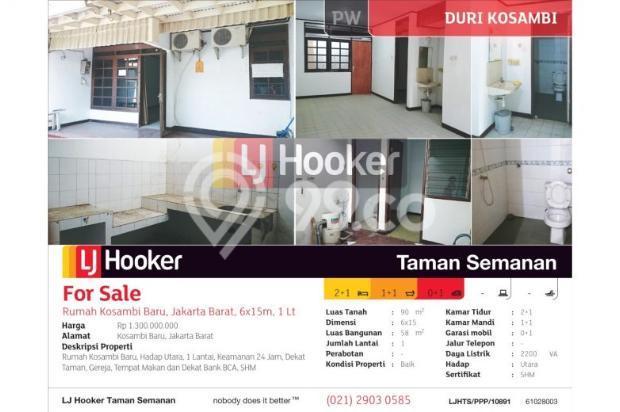 Rumah Kosambi Baru, Jakarta Barat, 6x15m, 1 Lt 7608679