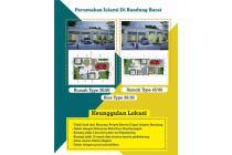 Dijual Kavling & Rumah di Hasanah City Bandung, KBB. Tanpa Riba, Murah