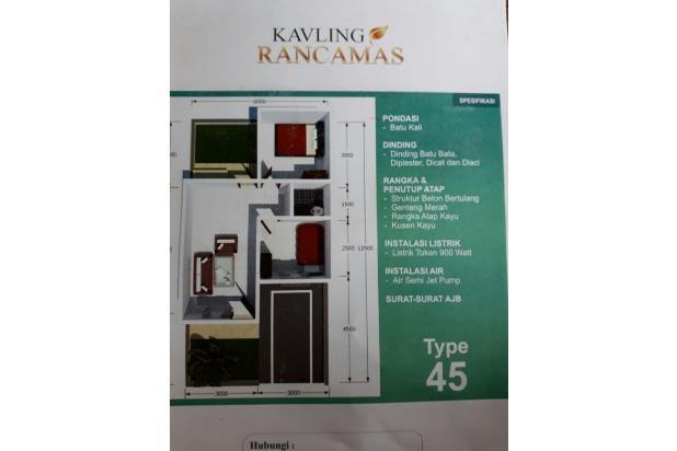 Rumah kavling Type 45/70 murah 120 JT SAJA di Bandung selatan. CASH!!!! 15147562