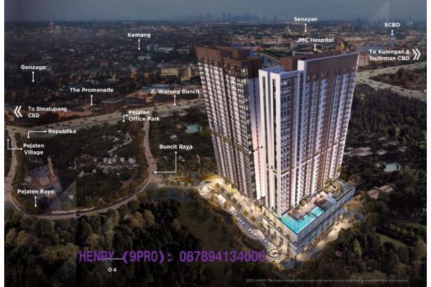 Rp782jt Apartemen Dijual