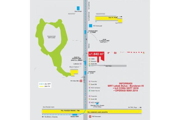 Rp64,4mily Tanah Dijual