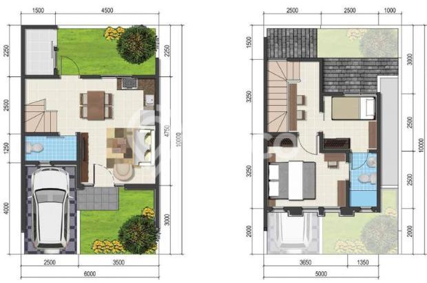 Dijual Rumah Baru 2LT Strategis di ParkVille Serpong Tangerang Selatan 15145886