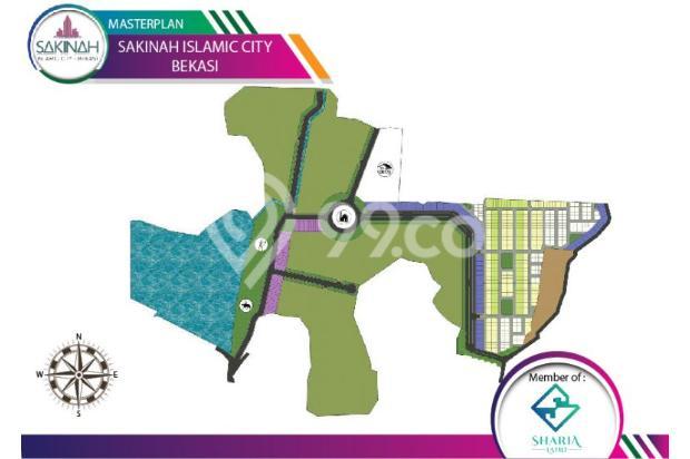 Jual Rumah Tipe 36/72 Dengan Lingkungan Islami Di Bekasi 17149545