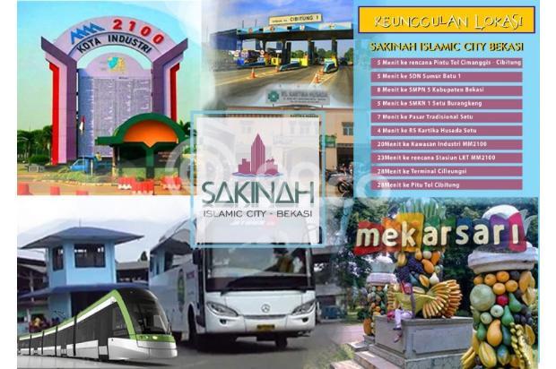 Jual Rumah Tipe 36/72 Dengan Lingkungan Islami Di Bekasi 17149557