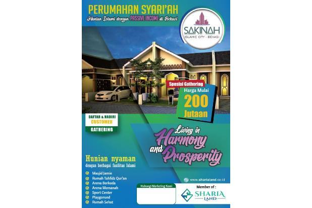 Jual Rumah Tipe 36/72 Dengan Lingkungan Islami Di Bekasi 17149587