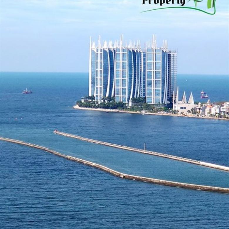 NEW DEAL! 2 Kamar Condo 74 m2 Green Bay Pluit Vw Laut Lepas