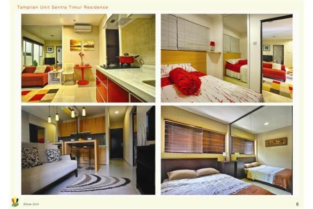 Dijual 2 Kamar Murah  Siap Huni Apartemen Sentra Timur Residence 16794387