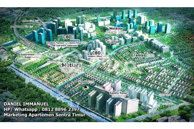 Dijual 2 Kamar Murah  Siap Huni Apartemen Sentra Timur Residence 16794410