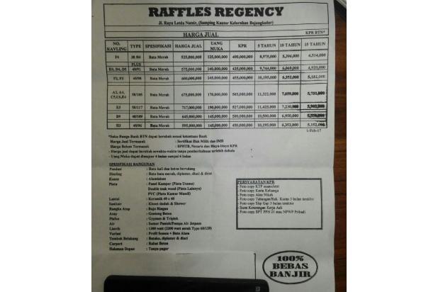 Rumah dijual di Bekasi: Rumah Dijual Di Jatiasih dekat Komsen Jatiasih 15893551