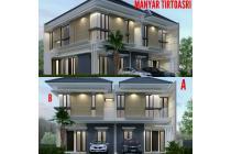Rumah cantik Baru di Manyar Tirtoasri, bergaya minimalis modren, Surabaya