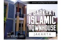 Jual Rumah DiJakarta Selatan Lokasi Strategis D'BHARKATI ISLAMIC TOWNHOUSE