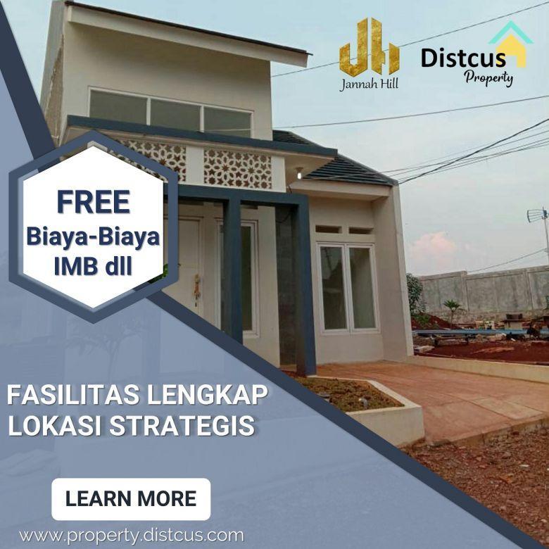 Rumah di Depok Dekat Stasiun, Lokasi Strategis, Murni Syariah