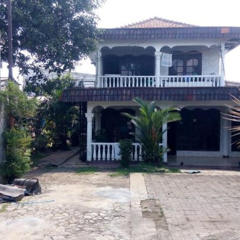 rumah dijual di beji depok, luas tanah 989m2 lokasi strategis pinggir jalan