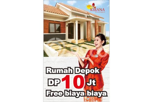 KPR Tanpa DP Bunga Subsidi 6 % di Kirana Sawangan 17794144