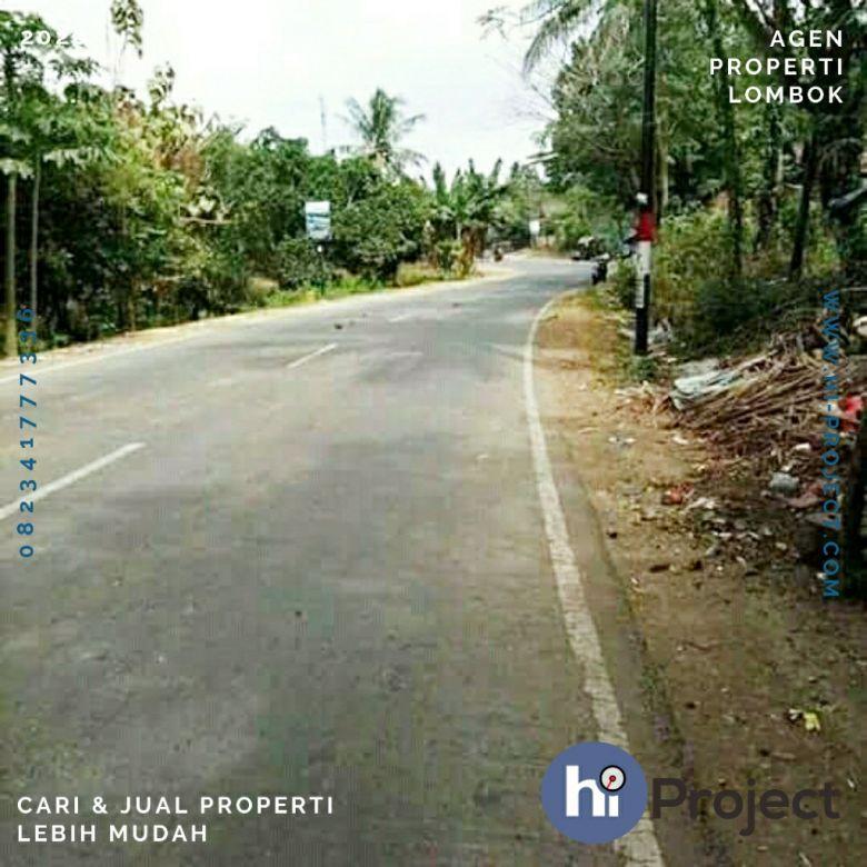 15 are Tanah pinggir jalan di Kuta Mandalika Lombok T427
