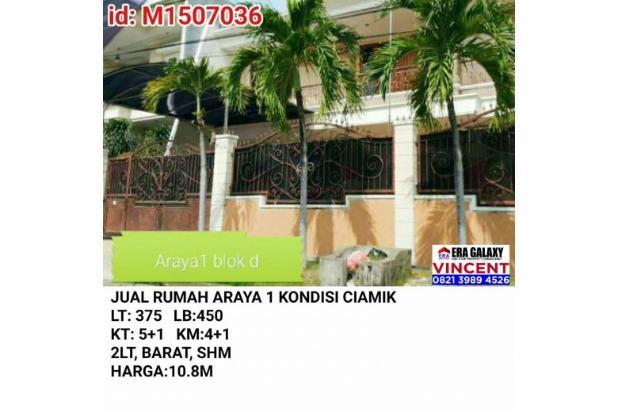 Jual Rumah Araya 1 Ciamik 6154876