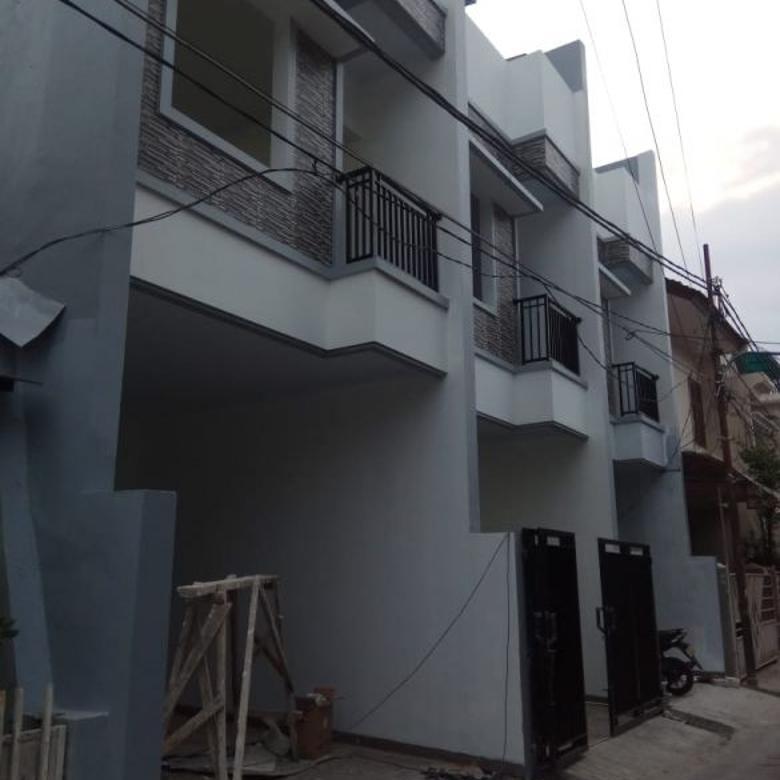 Rumah baru 3 lantai di Tanjung Duren, Jakarta Barat