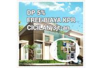 Rumah Dijual di Karawang Jawa Barat, Dp 5%, Free Biaya KPR