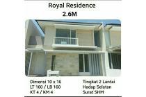 rumah Royal Recidence Surabaya Murah SHM