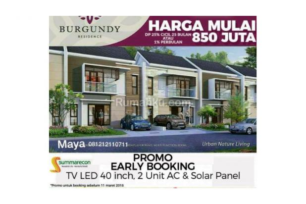 Burgundy Residence Cluster Terbaru Summarecon Bekasi 15894665