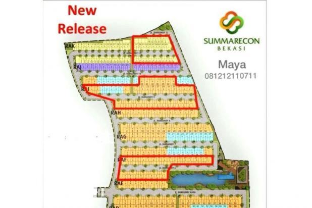 Burgundy Residence Cluster Terbaru Summarecon Bekasi 15894700