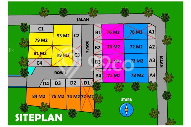 KPR DP 8 Juta, Hanya 400 Jutaan Plus Bonus Kanopi 16049533
