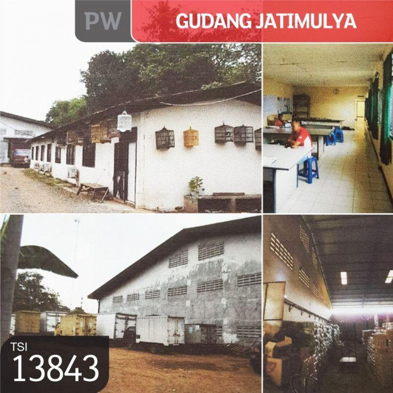 Gudang Jatimulya, Tambun, Bekasi, 4.900 m², 1 Lt, SHM