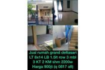 Dijual Rumah Nyaman Siap Huni di Grand Deltasari, Sidoarjo
