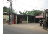 Rumah 396 Meter + Toko Triplek Di Serua Raya Bojongsari Depok