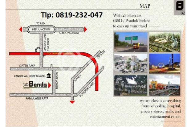 RUMAH DIJUAL: The Benda Residence (Tlp: 0819232047) Pamulang Tangsel 13697360