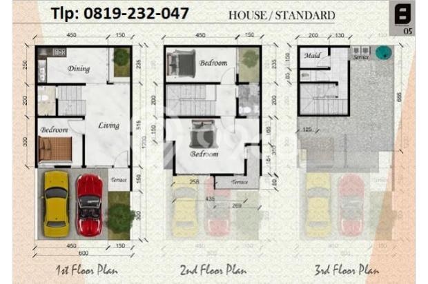 RUMAH DIJUAL: The Benda Residence (Tlp: 0819232047) Pamulang Tangsel 13697363