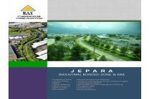 Diual Lahan Zona industri Jawa Tengah Mayong Jepara sudah termasuk ijin