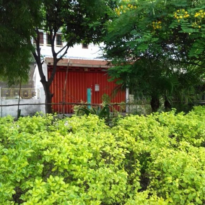 Rumah Semolowaru Surabaya Bangunan 1,5 Lantai Lingkungan Asri
