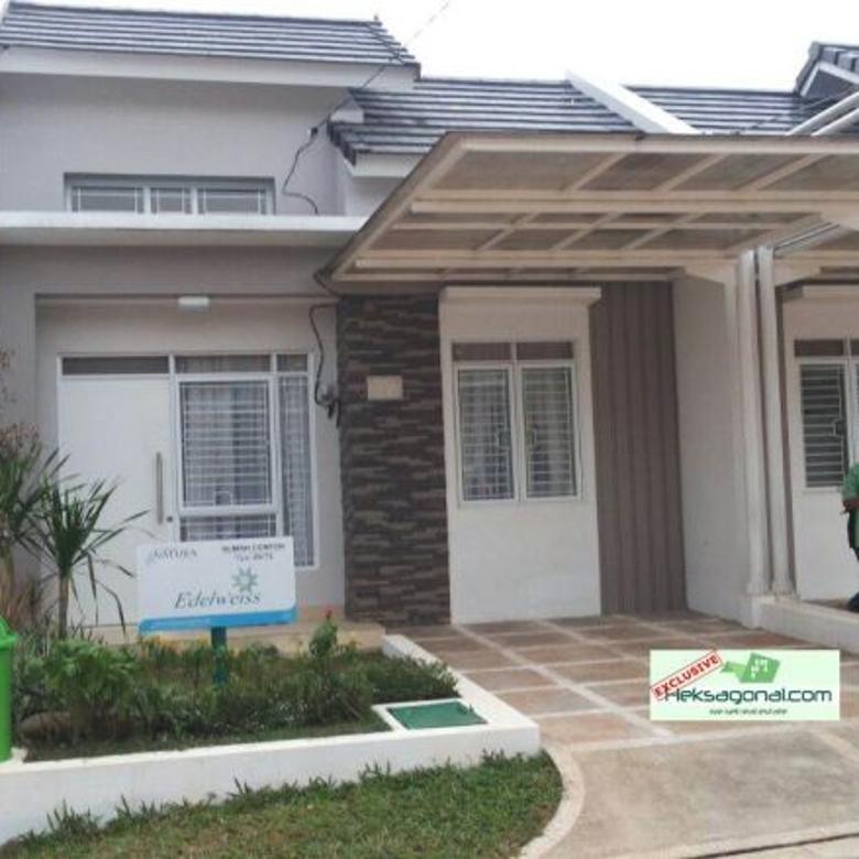 Rumah dijual Cluster edelweis HKS3661