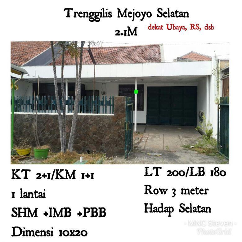 Trenggilis Mejoyo Selatan Rungkut Dekat Ubaya SiAP HUNI 2.1M