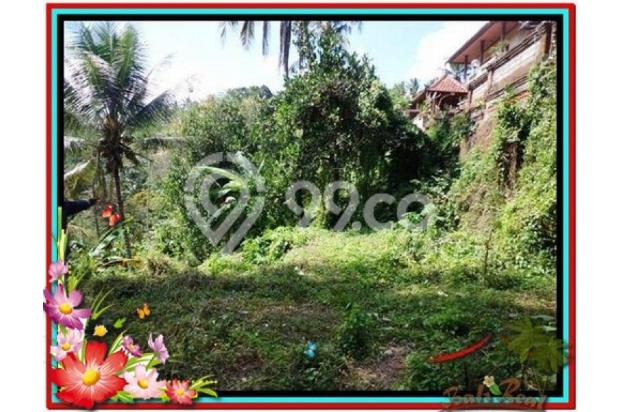 Cantik Alami, 1.500 m2  Tebing dan sungai besar di Ubud TJUB503  4292452