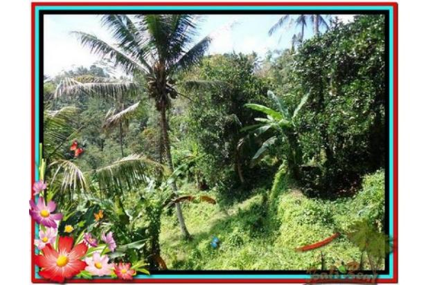 Cantik Alami, 1.500 m2  Tebing dan sungai besar di Ubud TJUB503  4292454