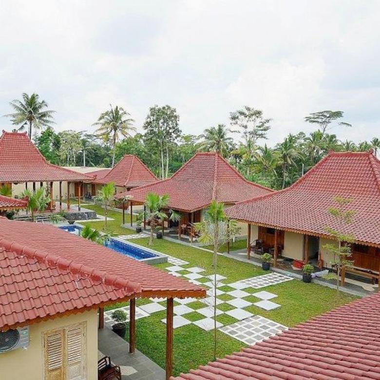 Rumah Joglo Villa Cottage Luas Jalan palagan Jogja Luas 2500