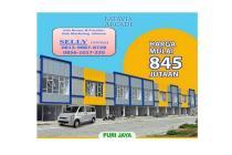 cluster rumah 2 LT dan ruko 2 lantai cadas kukun tangerang Murah, DP 18x