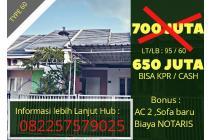 Rumah Termurah di RUNGKUT dekat Rivera , MERR , UPN , TOL JUANDA 600 jutaan