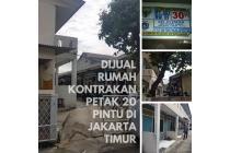 Dijual rumah kontrakan petak 20 pintu di Jakarta Timur